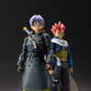 Official Dragon Ball: Xenoverse Video Game Hero and Trunks Figure Images