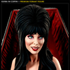 Exclusive Elvira in Coffin Premium Format Figure
