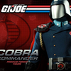 G.I. Joe Cobra Commander Premium Format Figure