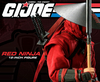 G.I.Joe Red Ninja 12-inch Figure Preview From Sideshow