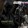 G.I.Joe Snake Eyes and Timber Statue From Sideshow Preview