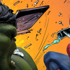 The Incredible Hulk vs. Spider-Man Diorama