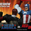 Captain America VS Red Skull Diorama From Sideshow