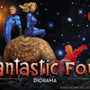 Fantastic Four Diorama From Sideshow