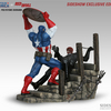Captain America VS Red Skull Diorama