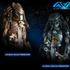 Predator 14-inch figures from Hot Toys Preview