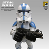 2006 SDCC Star Wars 501st Clone Trooper Vinyl Super-Deformed Figure From Sideshow Toy