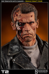 T-800 Terminator Battle Damaged Premium Format Figure
