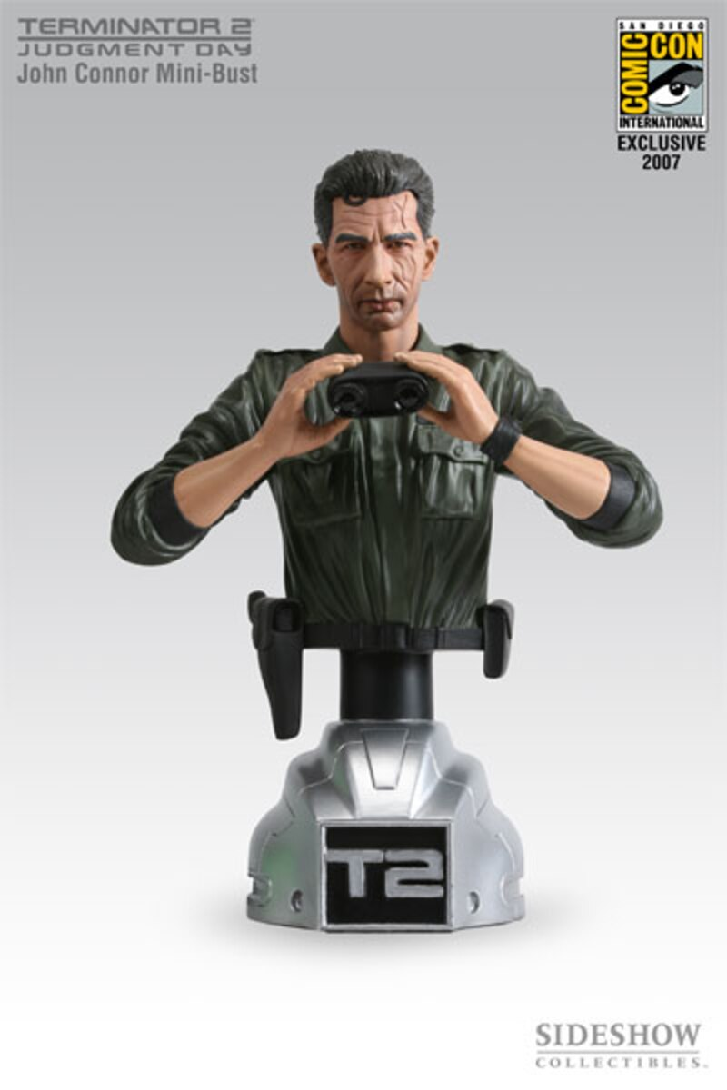 TERMINATOR John Connor Bust Exclusive Sideshow