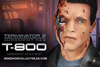 T-800 Battle Damaged Legendary Scale Bust From Sideshow