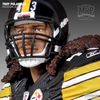 Troy Polamalu Black & White Jersey Collectible Busts