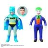 DC Heroes Sofubi Batman & Joker figures