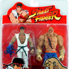 Exclusive Sota Toys Street Fighter Ryu vs Sagat Action Figure 2-Pack (Scarring Blow - Bloody)
