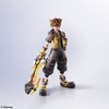 Kingdom Hearts III Bring Arts Sora (Guardian Form Version) Figure From Square Enix