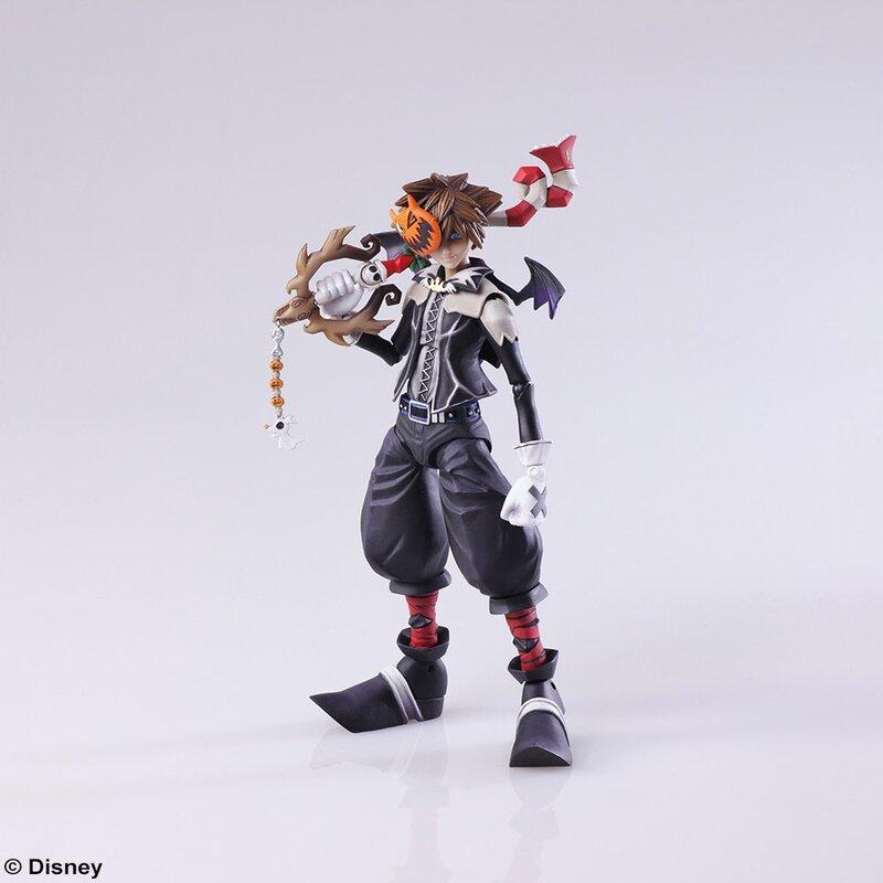 Kingdom Hearts 3 Bring Arts Christmas Sora & Riku Figures From ...
