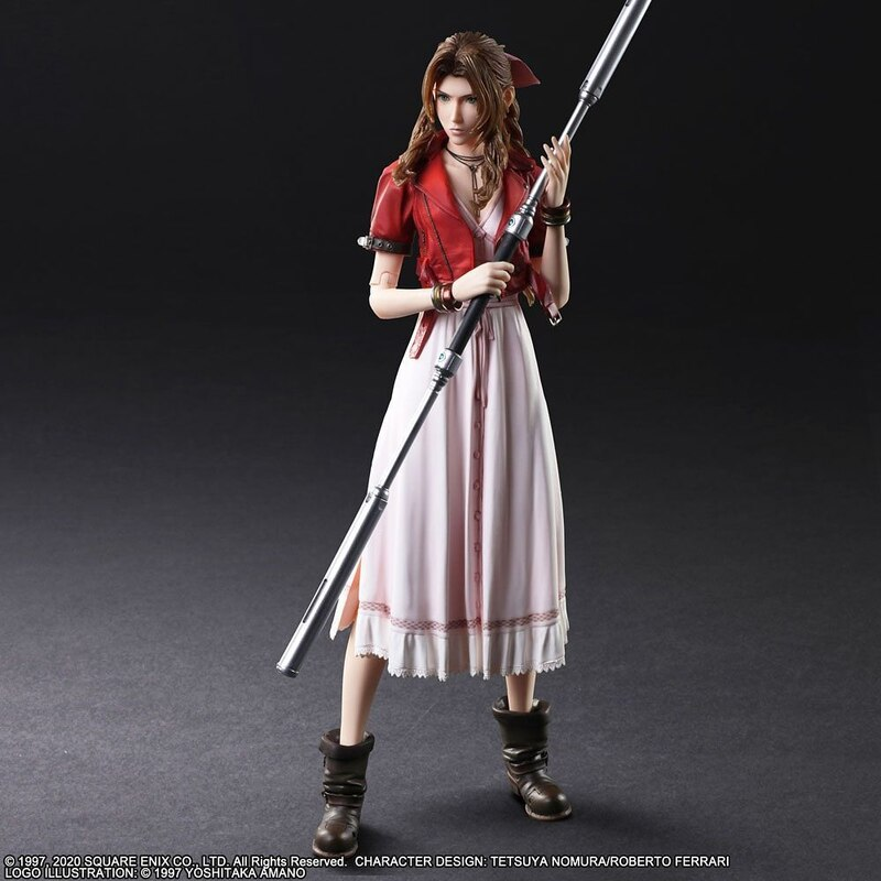 Final Fantasy Vii Remake Play Arts Kai Cloud Aerith Barret And Tifa Figures From Square Enix