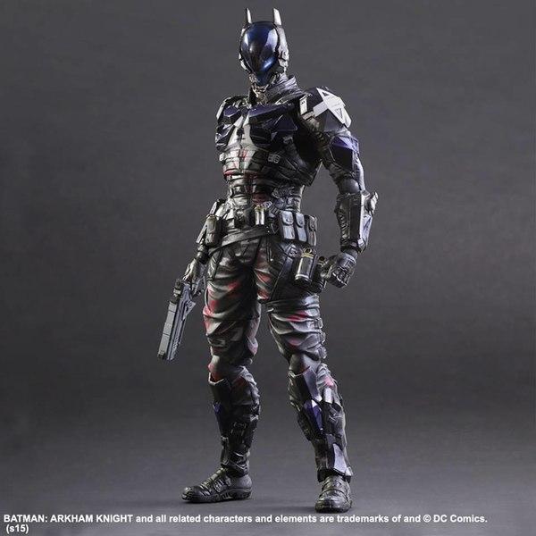 New Batman: Arkham Knight Play-Arts Kai Arkham Knight ...