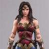 Play-Arts Kai Batman v Superman Dawn Of Justice Wonder Woman & Armored Batman Figure Images