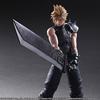 New Play-Arts Kai Final Fantasy Cloud Strife, Barret Wallace & Nyx Ulric Figure Images