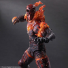 Play-Arts Kai Metal Gear Solid V: The Phantom Pain Man on Fire (Burning Man) Figure