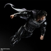 2013 NYCC Exclusive Play Arts Kai Man of Steel Superman Black Suit Version