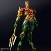 Official Play Arts Kai DC Aquaman & Cyborg Variant Figure Images