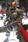 Play Arts Kai Batman Arkham Origins Figures Revealed - Batman & Deathstroke