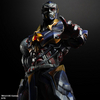 New Play-Arts Kai DC Variant Hawkman & Darkseid Figures Images