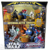 Star Wars/Transformers Intergalactic Showdown Attacktix Battle Figure Game