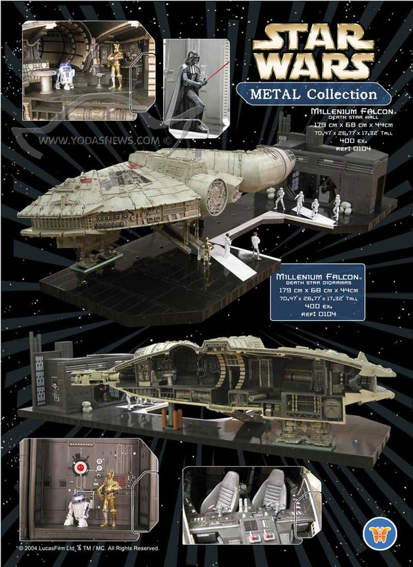 Attakus Star Wars Metal Collection Millenium Falcon