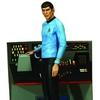 New Star Trek Spock Statue & Khan Bust