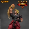 Street Fighter V Ken 1:12 Scale Action Figure Images From Storm Collectibles