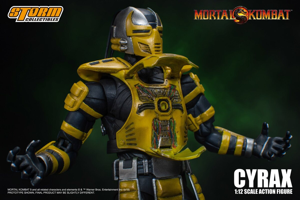 Mortal Kombat 1:12 Cyrax Figure Official Images And Details From