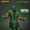 New Mortal Kombat Reptile 1/12 Scale Collectible Figure Images From Storm Collectibles
