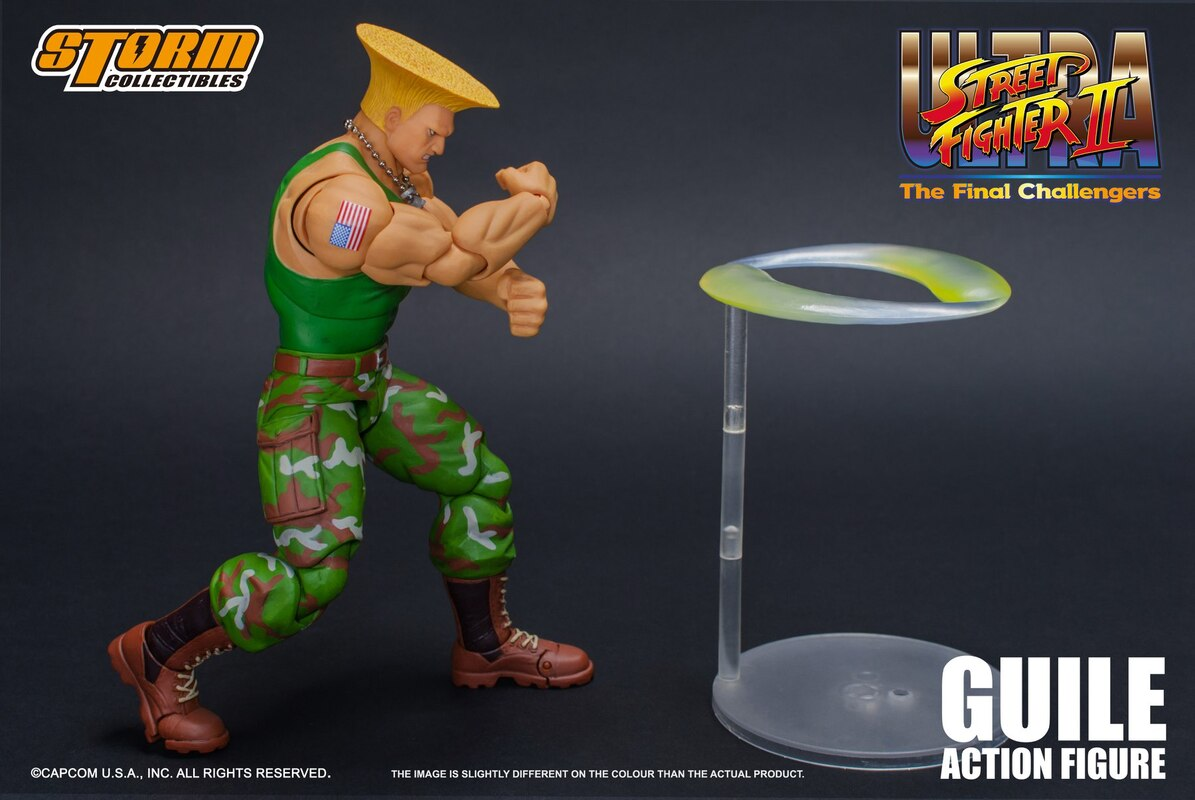 Storm Collectibles 1:12 Street Fighter II Ultra Guile Figure
