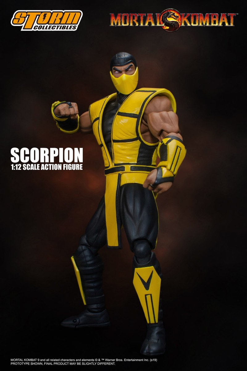 Storm Collectibles Teases 1 12 Ultimate Mortal Kombat 3 Scorpion