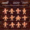 New Street Fighter M.U.S.C.L.E. Figures Image From Super7