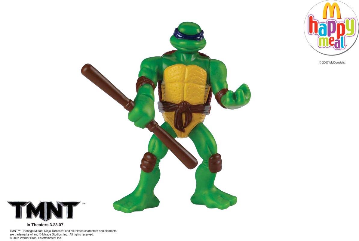 Teenage Mutant Ninja Turtles Movie Toys At Mcdonalds