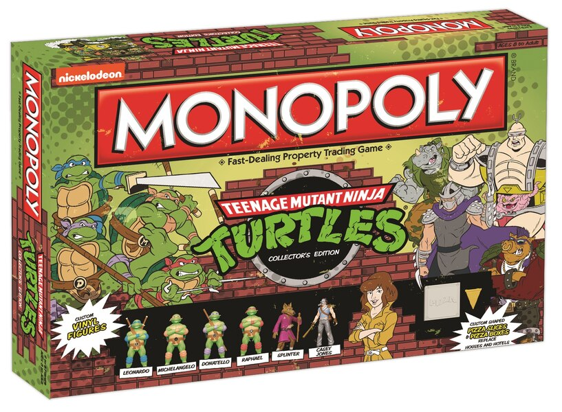 Nickelodeon Amp Usaopoly Partner To Create Exclusive Tmnt