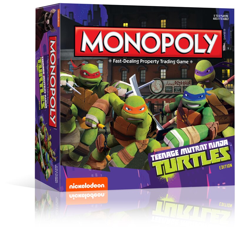 Nickelodeon & USAopoly Partner To Create Exclusive 'TMNT
