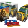 Teenage Mutant Ninja Turtles Movie Blu-ray Set With Turtle Tactical Truck Lunchbox