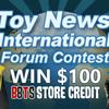 The TNI Forum BBTS $100 Store Credit Give-Away Returns