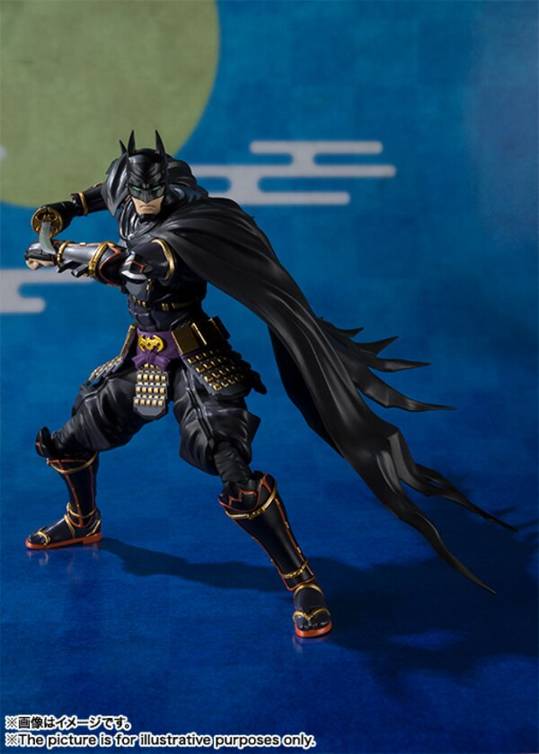 S H Figuarts Batman Ninja Batman Joker Figure Official Images From Tamashii Nations