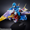 Mega Man X Chogokin Mega Man X (Giga Armor) Figure Details & Images