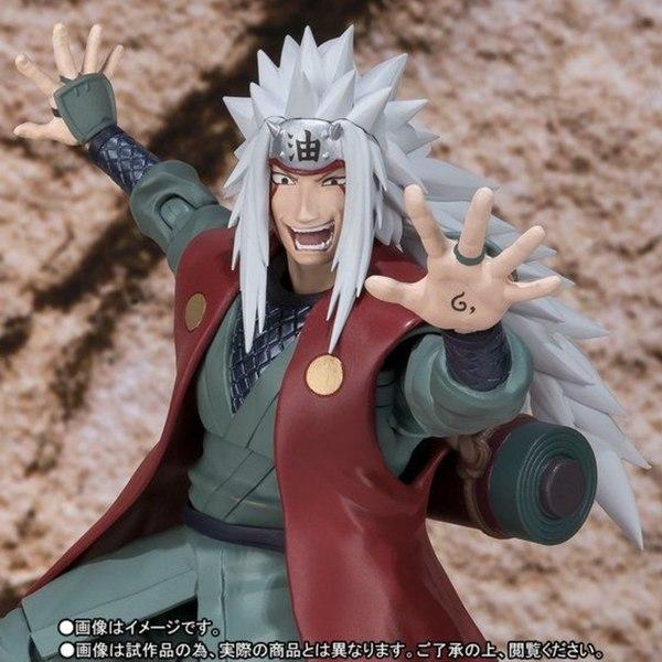 Naruto S.H.Figuarts Jiraiya Images & Info