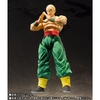 S.H. Figuarts DBZ Tien Shinhan with Chiaotzu Figure From Tamashii Nations