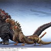 Official S.H. Monsterarts ShinGodzilla 2nd & 3rd Form Figures Images