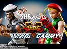 S.H. Figuarts Street Fighter V Cammy & Rashid Figures Up For Pre-Order
