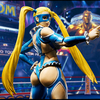 New S.H. Figuarts Street Fighter Rainbow Mika Figure Images From Tamashii Nations