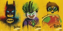 'The LEGO Batman Movie' Graffiti Character Posters